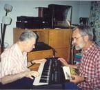 Moi et C.Tassin auteur de L'ornière