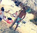 Um dia fui a praia.