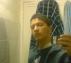 me dans le douche