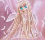 rose en ange