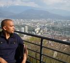 Du haut de la Bastille à Grenoble