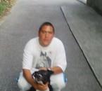 moi et mom chien sunny