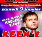 Keen V en LIVE Samedi 9 Janvier 2010 avec des Nouveaux Titre