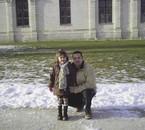 ma fille et moi en ballade a chambord