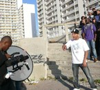 """Sur le tournage du clip """"Shrab"""" à Felix Pyat"""