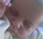 Kelly quand elle est née.