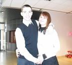 Mon homme et moi au mois de décembre 2009!!! <3