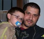 joakim avec son papa