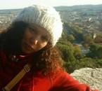 moi en haut de la Tour Magne!