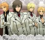 De gauche à droite : Akatsuki, Kaname, Takuma et Hanabusa !
