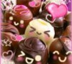 bonbon au chocolats kawaii