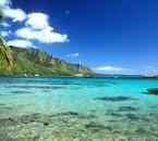 s'évader se laisser  sur une plage de TAHITI