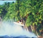 surf à TAHITI