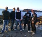 tjr nous a foulek du bled a la plage de Bosquet