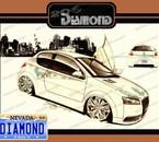 Dessin PEUGEOT 206 DIAMOND