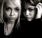 Miley et Brandi sa soeur