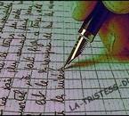 L`écriture en guise d`échapatoire ..