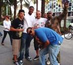 Moi et Les potos de Miami