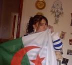 my avec drapaux Algérie