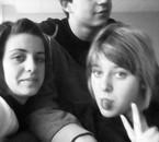 Lucas, My doog (Mathilde) & Moii ;)