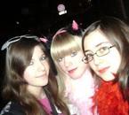 Soirée Carnaval au Barabao, avec les filles (l)