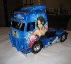 mon camion rc volvo !!!!