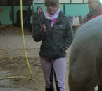 Ophelie, Ma Prof' D'equitation :)