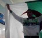 au match de l'algérie
