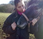 moi et mon poney d'amour <3