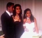 ma cousine en robe de marié avec son ex