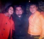 mes deux cousins avec ma cousine