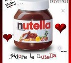I love Nutella <3 mmmh !!