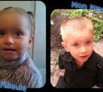 ma filleule et mon neveu  ils sont trop mignons  ♥