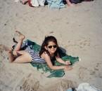 ma fifille sur une plage en espagne !