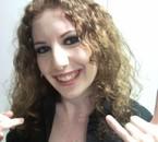 Moi avec un Maquillage Smoky fait le 27 Novembre 2009