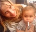 moi et ma petite soeur louna