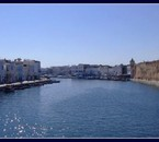 Overview of Bizerte's old port