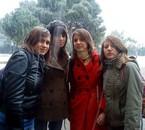 Mel, Ade, Auré & moi, le bon vieux temps! Ca me manque!