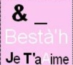 & _ Bestàah Je t ' aiime