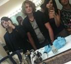 """Selena Gomez et son groupe """" The scène """""""