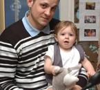 princesse sarah avec sont papa