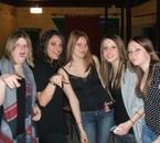 Audrey, Yolaine, Emilie, Moii, Cassandra