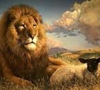 Le lion et l' Agneau c'est toi Jésus