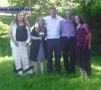 avec des amis lors d un mariage