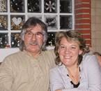 mon père et claudie (son épouse), qui roule h.d et virago