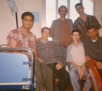 moi avec mes amis a houpital d'àlgerie anne 2002
