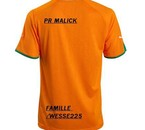LE MAILLOT DE PRESIDENT MALICK NUMBER1