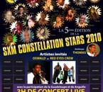 je participerais a la constelations stars caraibes 2010