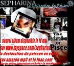 nouvel album le 18 mai 2010 sur www.myspace.com/sepharina
