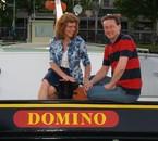 David en Riet, de bemanning van de Domino